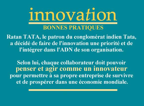 innovation bonnes pratiques